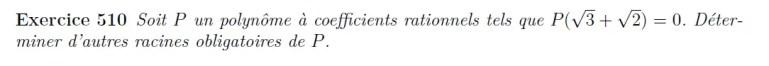 Propriétés des polynômes