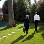 wandelen om relatie te verbeteren