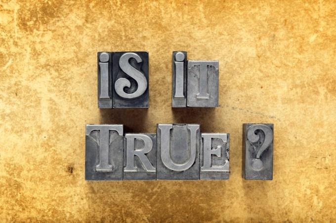 Hoe kun je bepalen of je beweringen moet geloven of niet?