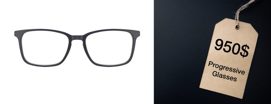 The Cost of Progressive Lenses [with Examples]