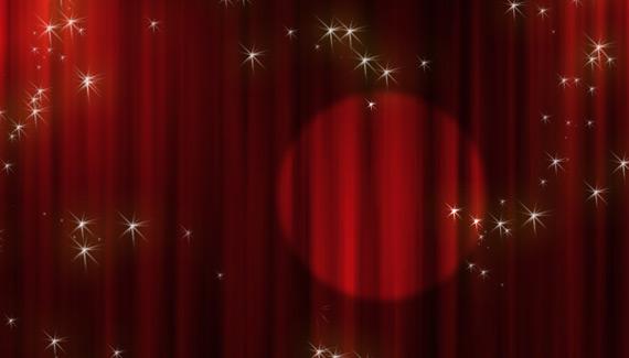 Animated Stage Curtain Imikimicom