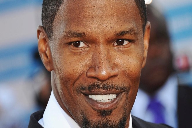 DEAUVILLE, FRANCE - SEPTEMBER 01:  US actor Jamie Foxx arrives at the premiere of the movie 'White House Down' during the 39th Deauville American film festival on September 1, 2013 in Deauville, France.  (Photo by Francois Durand/Getty Images)