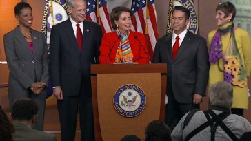 Pelosi names Ben Ray Lujan as new DCCC chairman.