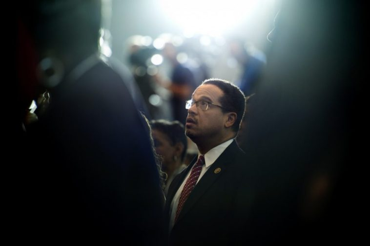 Keith Ellison is running for chair of the DNC.