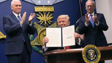 Trump signs an Executive Order