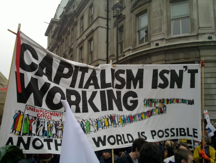 Capitalism isn't working. Another world is possible