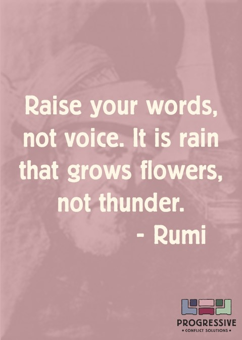 Rumi Raise Your Words