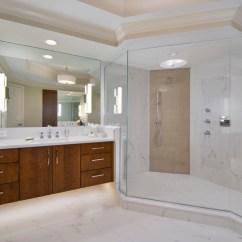 Kitchen And Bath Remodel Backsplash Ideas On A Budget Condominium Master Bathroom Bonita Springs Fl ...