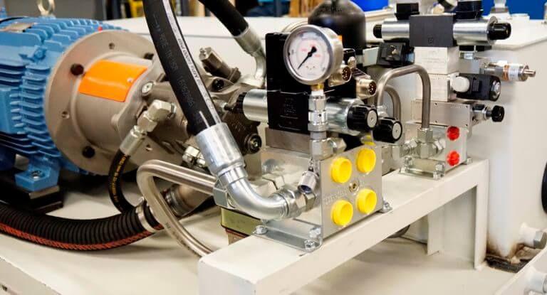 engineered hydraulic systems controls