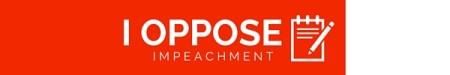 I oppose impeachment