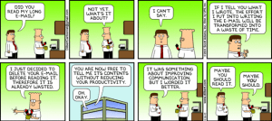 Photo Courtesy of: http://dilbert.com/strips/comic/2010-12-26/
