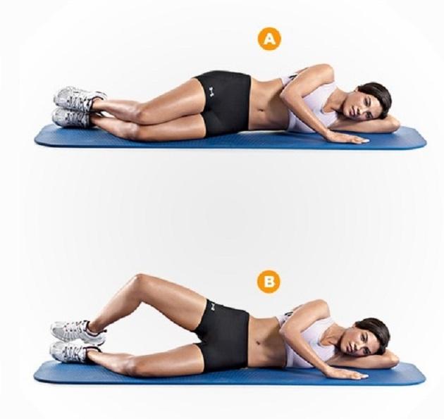 kako smršaviti s gornjih nogu