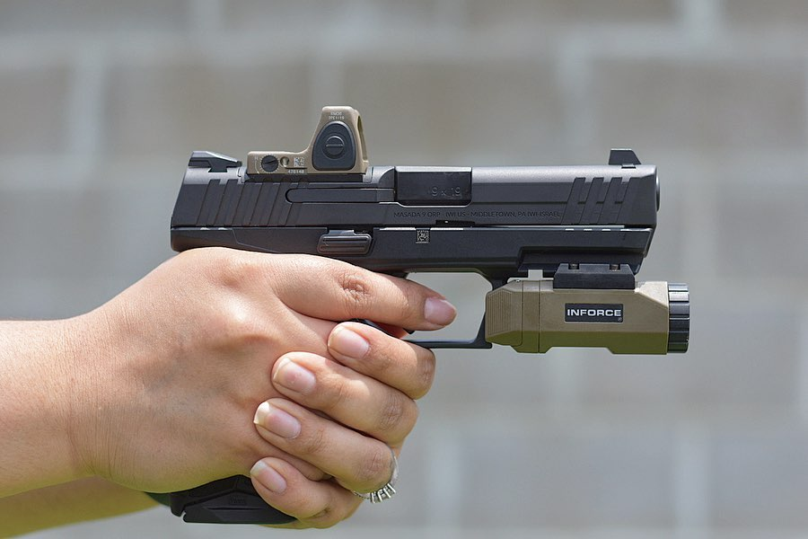 IWI Masada Pistol Review  Military/Industrial Cooperation