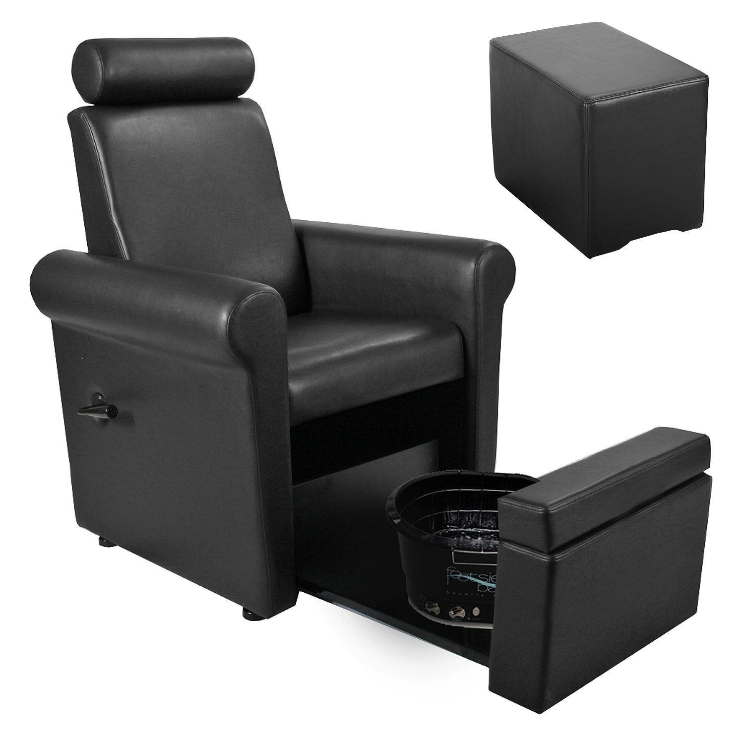 Nail Salon Chairs Keller Independence Pedicure Spa Chair Stool And Footsie