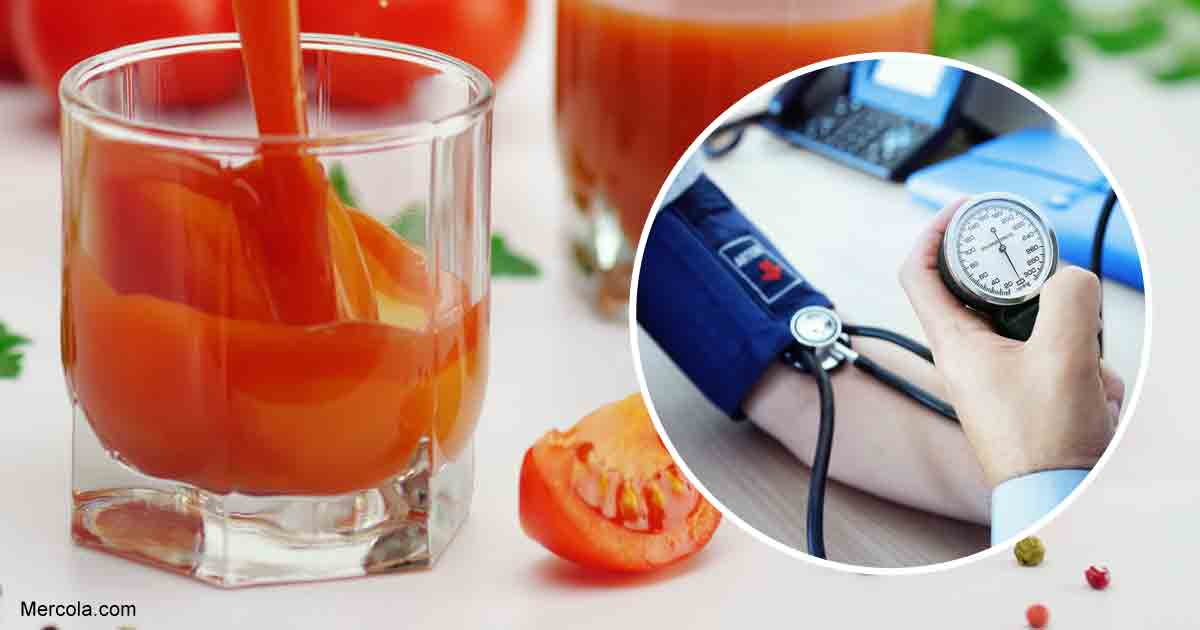 Can Tomato Juice Improve Your Blood Pressure?