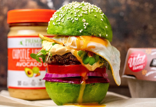 Avocado Egg Burger (Plus a Giveaway!)