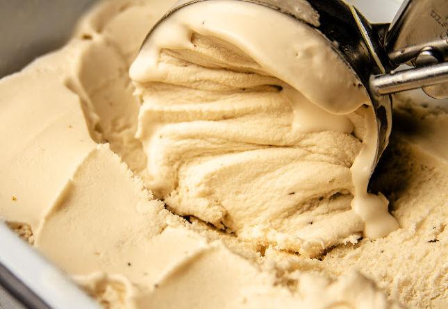Keto Salted Caramel Ice Cream