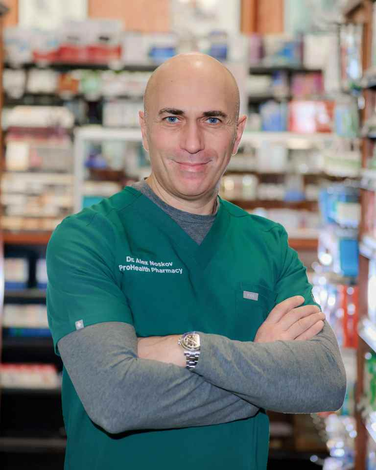 Dr. Alex Pharmacist