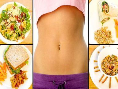 LOSE WEIGHT WITH A HEALTHY DIET