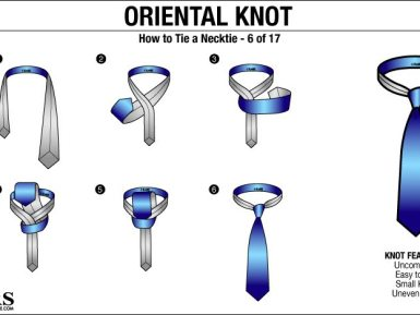 For Men: How To Tie A Tie – Part 1