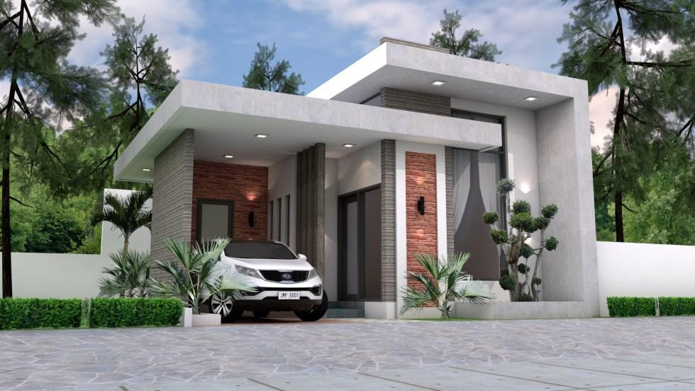 Best Small House Designs 8x10 Meter 26x33 Feet 1