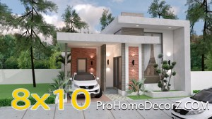 Best Small House Designs 8x10 Meter 26x33 Feet