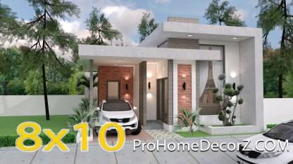Best Small House Designs 8x10 Meter 26x33 Feet