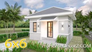 Custom Tiny Homes 6x6 with Hip Roof