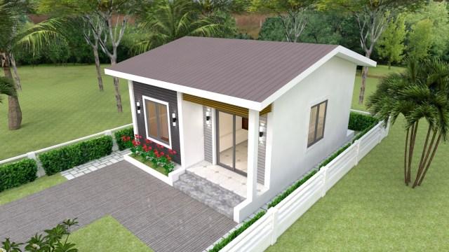 Custom Tiny Homes 6x7 Meter 20x23 Feet 2 Beds 3