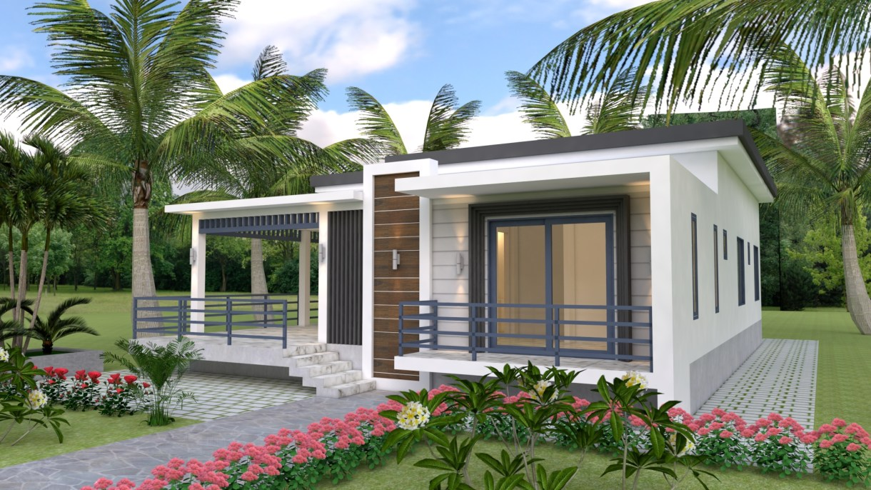 House Design 10x13 Meters 33x43 Feet 3 Bedrooms
