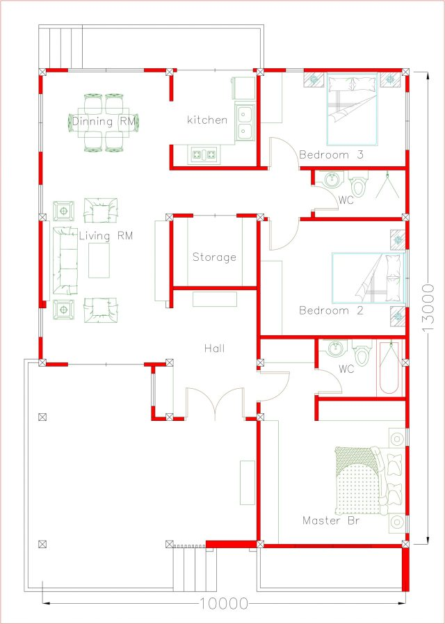 House Layout floor plan