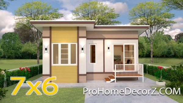 Small Budget House 7x6 Meter 23x20 Feet