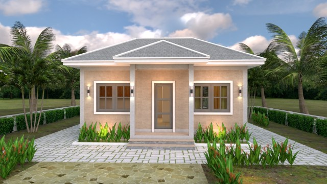 Front House 3d Elevation