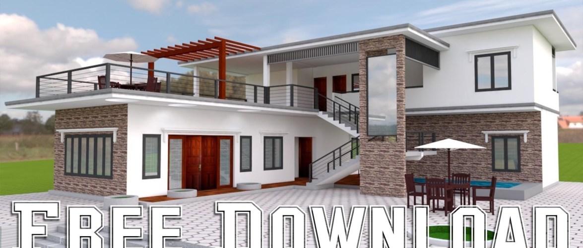 House Plans 15x17M 49X55F