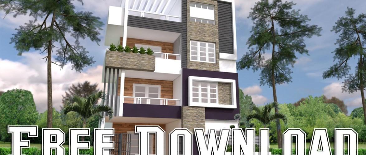 House Plans 8x14M 26x46F