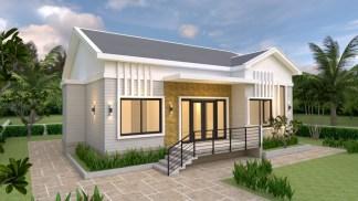 Modern Farmhouse Plans 12x12 Meter 39x39 Feet