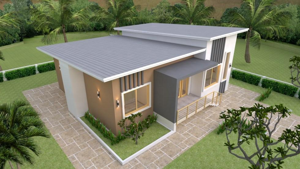 Modern House Design 12x12 Meter 39x39 Feet 5