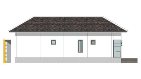 House Plans with Pool 14x14 Meter 46x46 Feet