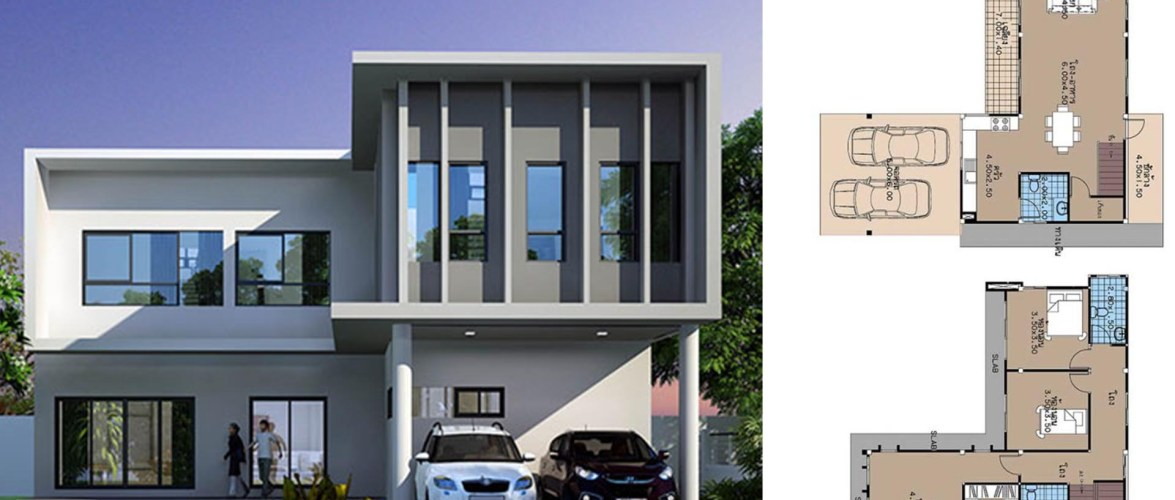 House Plans 12×11 with 3 Beds