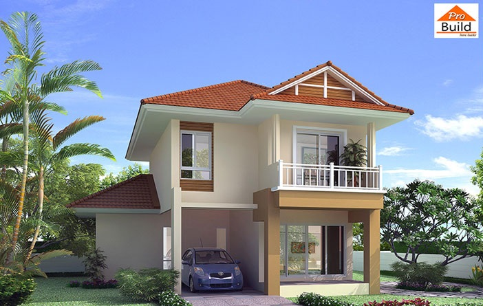 House Plans 9x9.5 with 3 Beds