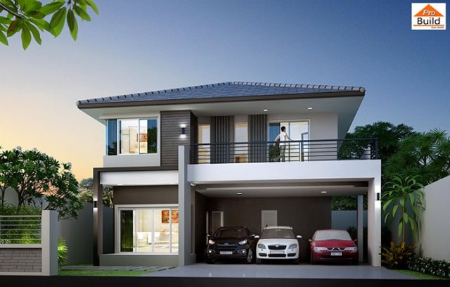House plans 11x11 with 4 Beds