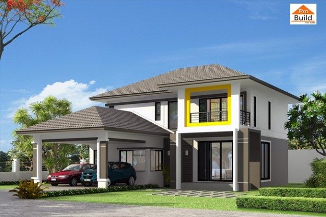 House plans 14x15 with 4 Beds 1