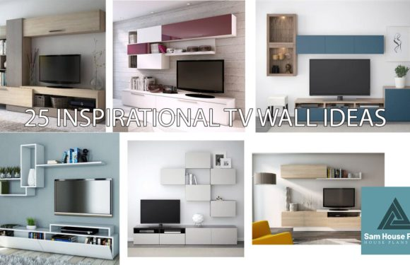 18 INSPIRATIONAL TV WALL IDEAS