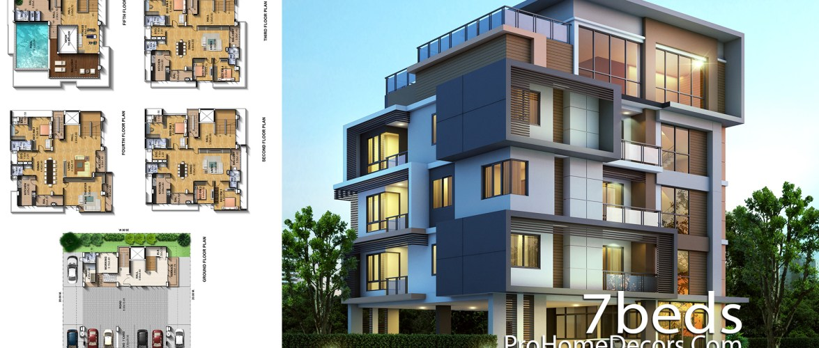 Exclusive House Plot 20×20 Meter with 7 Bedrooms