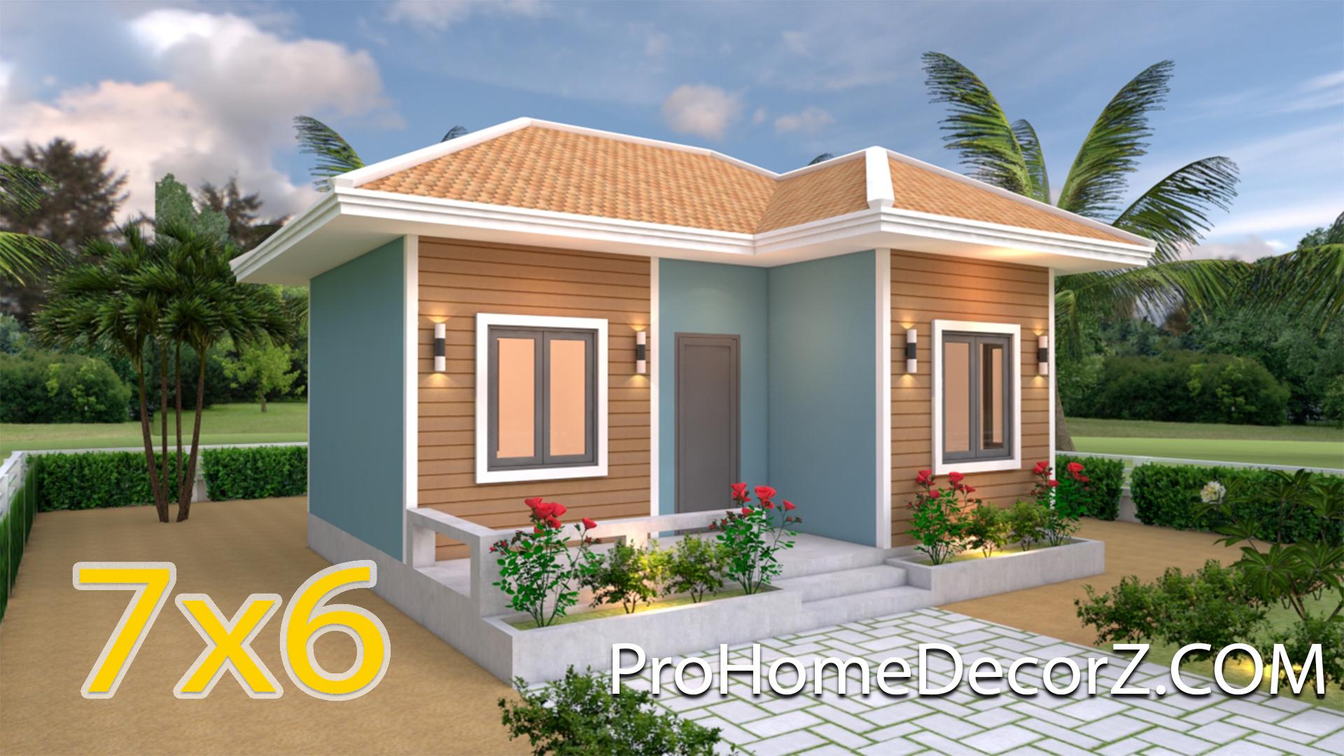 Simple House Designs 7x6 Hip Roof - Pro Home DecorZ