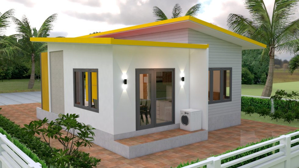 Small Modern House Design 7.5x11 Meter 25x36 Feet - Pro Home DecorZ