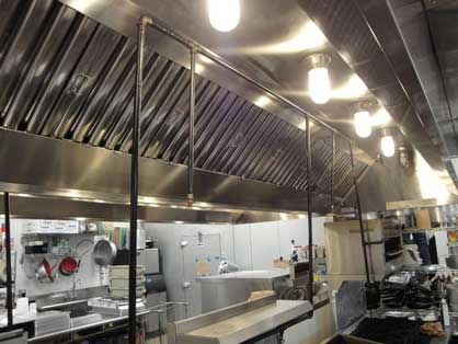 kitchen exhaust systems blue backsplash tile hood filters service in central texas pro cleaning