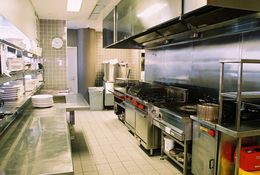restaurant kitchen setup cost white marble countertops commercial equipment cleaning service