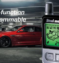 steelmate 898g 2 way car alarm system [ 1920 x 1080 Pixel ]