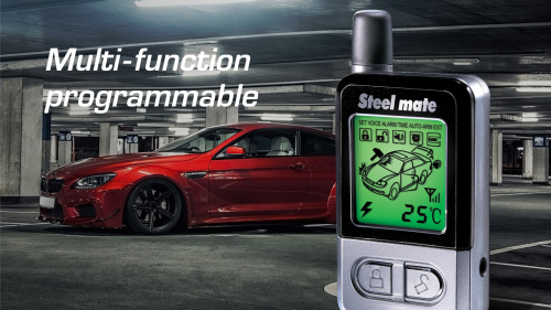 small resolution of steelmate 898g 2 way car alarm system